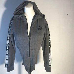 Puma zip up hoodie